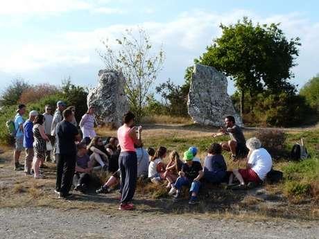 Visite guidée Mégalithes et Landes : comprendre et rêver