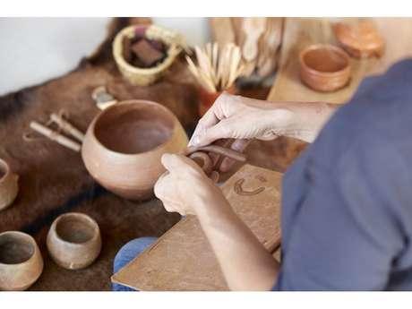 """Atelier Préhisto """"Fabriquer une poterie"""""""