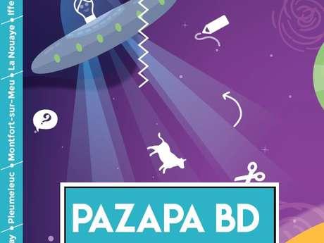 """PAZAPA BD - Exposition """"La tête dans les étoiles"""""""