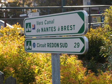EV1 La Vélodyssée, entre Bains-sur-Oust et Redon