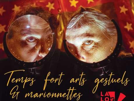 Temps fort, arts gestuels et Marionnettes