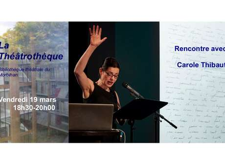 Rencontre avec Carole Thibaut - ADEC 56