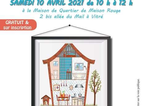 """Atelier débat: """"simplifier sa maison""""."""