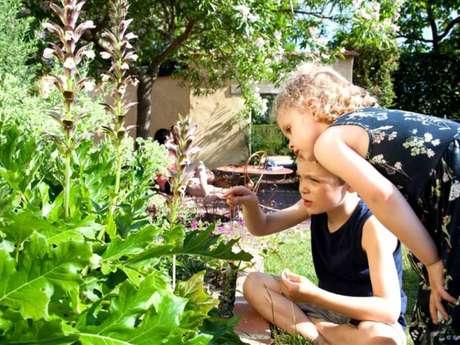 Atelier nature aux Jardins de Brocéliande