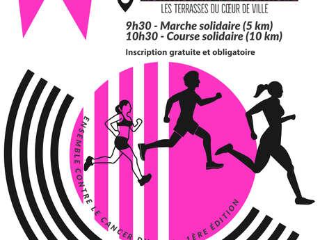 Les foulées roses : course solidaire contre le cancer du sein