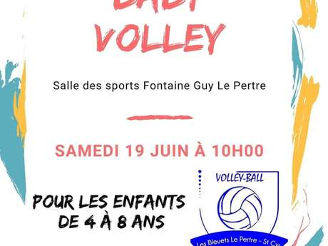 Initiation baby volley au Pertre