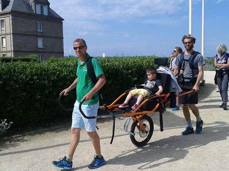 CJF Handisport - Randonnée Joëlette et fauteuil hippocampe