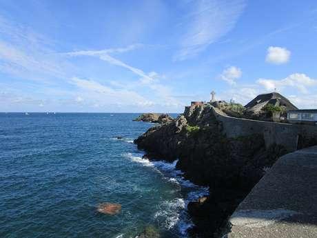 Visite guidée de Saint-Lunaire : Le Décollé et ses villas