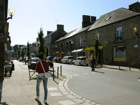 Village Etape de Saint-Brice-en-Coglès