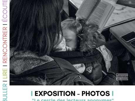 """Exposition photos """"Le cercle des lecteurs anonymes"""""""