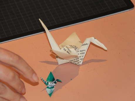 Découvertes Métiers : Restaurateur de papier et Origami
