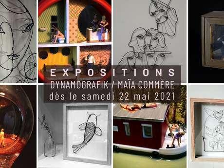 A-priori-c'est-bon-vernissage : Dynamografik / Maïa Commère