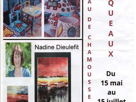 expo  Pascal Audin et Nadine Dieulefit
