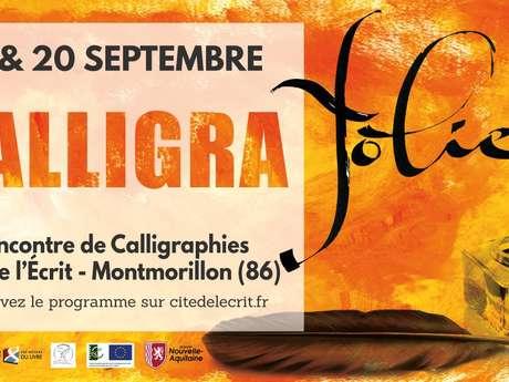 Calligrafolies à Montmorillon