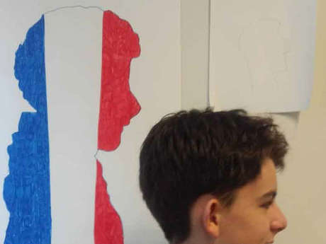 "Atelier "" Dessine ton profil..."" avec Dominique Robin"