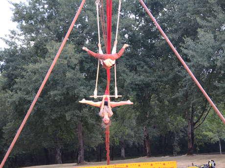 Cirque en tournée à Montmorillon