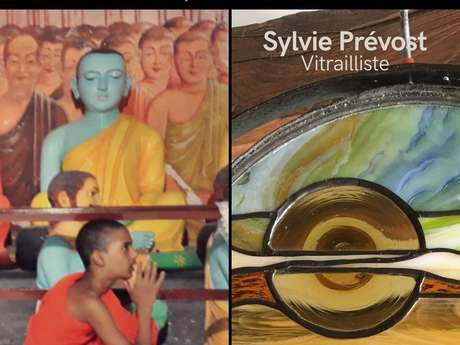 Exposition : Sylvie Prévost - vitraillste / Didier Melh - photographe