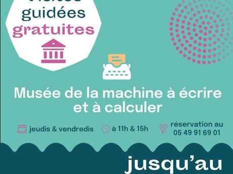 Visites gratuites du musée de Machine à Écrire et à Calculer