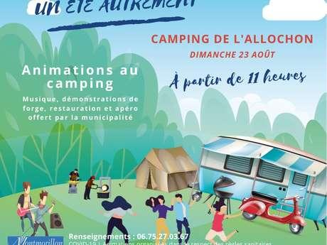 Un été autrement au camping