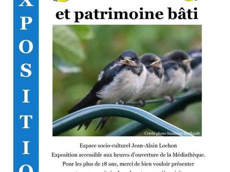 """Exposition LPO """"Oiseaux et patrimoine bâti"""""""