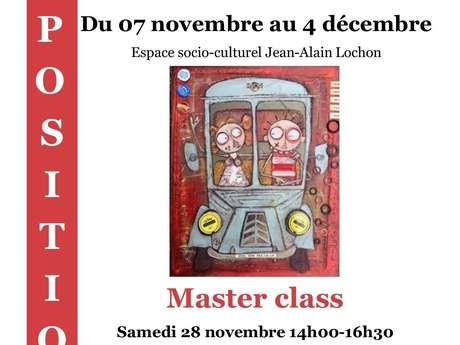Atelier Masterclass avec Franck Chalard