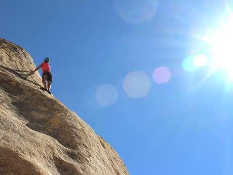 Climbing sites of Auzat