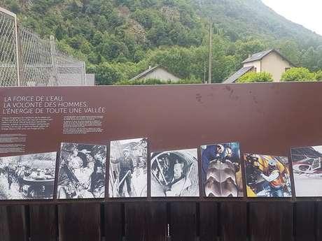 Interpretation trail of the Orgeix hydroelectric plant