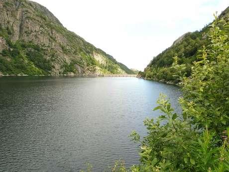 Balade commentée autour du barrage de Laparan