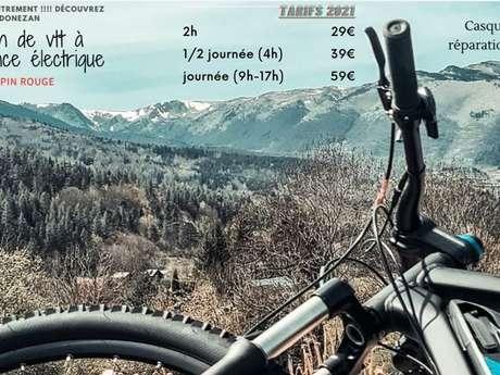 Alquiler de bicicletas de montaña en el Donezan