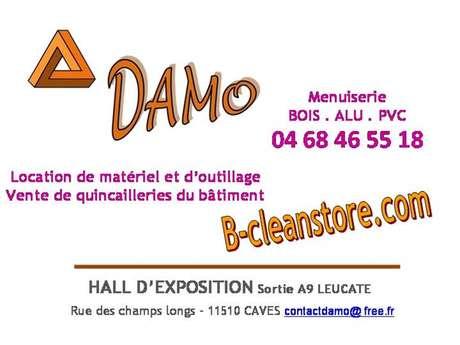 Menuiserie et location de matériel DAMO