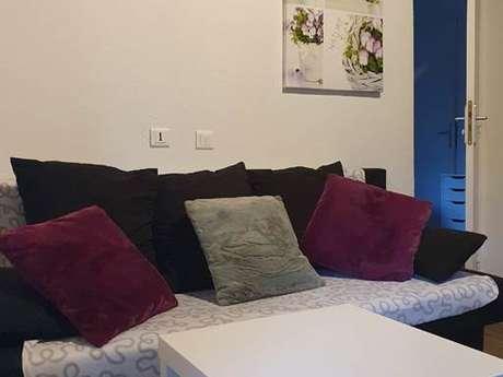 """Clévacances - Meublé 009MS000013 - """"Maison T2 Tarascon sur Ariège"""""""