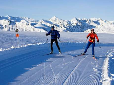 Cross-Country Skiing at the Nordic Area of Beille