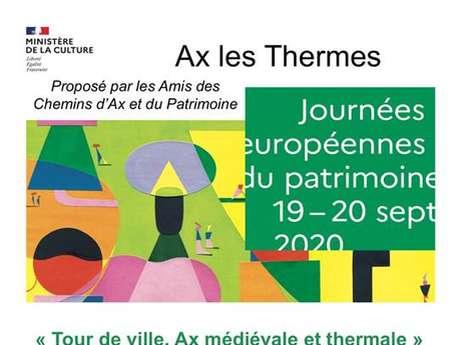 Journées du Patrimoine à Ax-les-Thermes