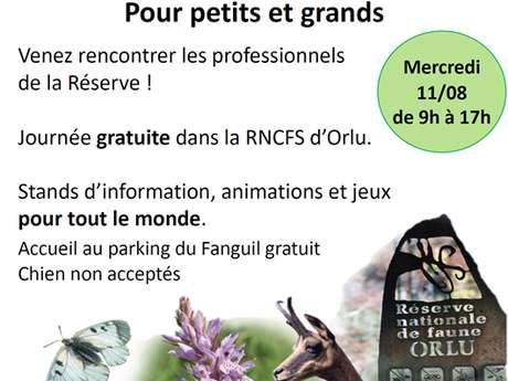 Journée d'information nature, Réserve Nationale d'Orlu