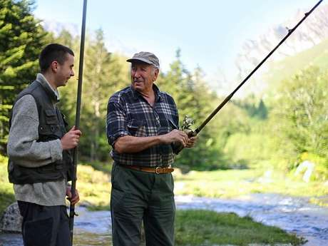 Pêche dans les Pyrénées Ariégeoises
