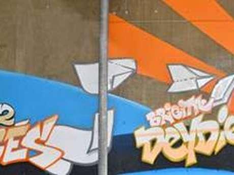 Street art and Montalbanais illustrious in Villebourbon