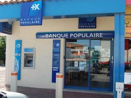 Distributeur automatique Banque Populaire