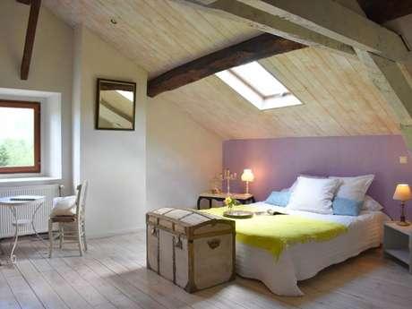 """Clévacances - Chambre d'hôtes 009CH000052 - """"Chambre de charme pour 2 avec accès  jacuzzi près de Foix"""""""