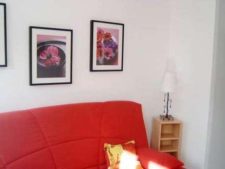 """Clévacances - Meublé 03205374 - """"Appartement 2/4 pers. à Ax-Les-Thermes (3ème étage)"""""""