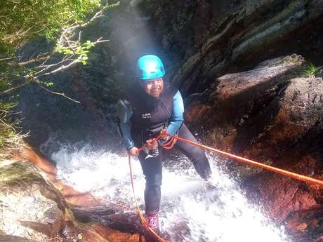 Canyoning avec Montcalm Aventure