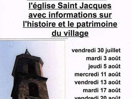 Visite de l'église de Saleix