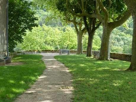 Jardin-belvedère du Temple