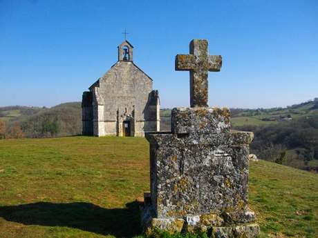 Point de vue de la Chapelle Notre Dame Des Grâces