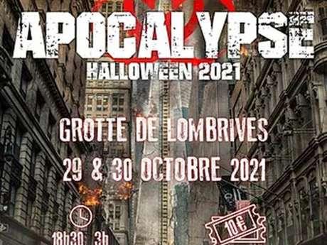 Apocalypse Halloween 2021 à la grotte de Lombrives