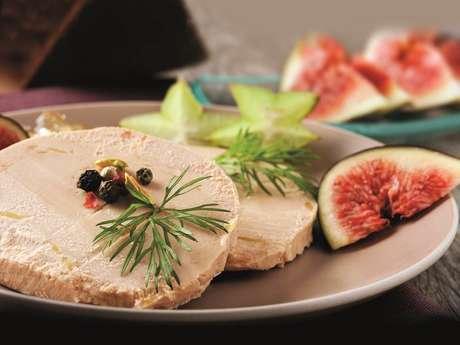 Conserves et foie gras