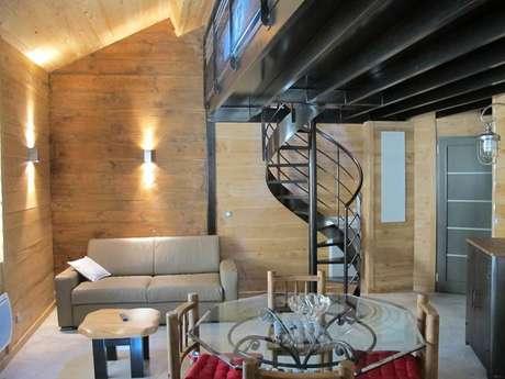 """Apartamento """"la mezzanine """" 6 Personas en Ax -les -Thermes"""