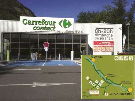 Station Service Carrefour Contact