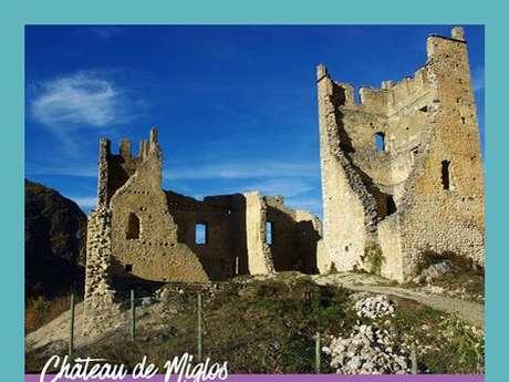 Journées du Patrimoine au château de Miglos