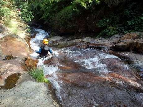 Canyoning avec le Bureau des Guides des Pyrénées Ariègeoises