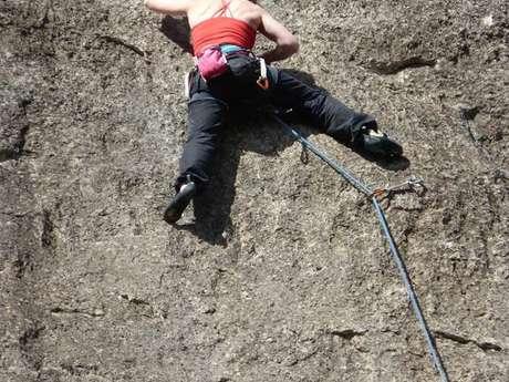 Calames climbing site